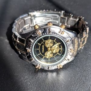 Other - Designer Titanium & Gold Watch